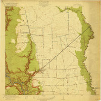 Crosby Texas Historical topographic map, 1:31680 scale, 7.5 X 7.5 Minute, Year 1919