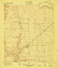 Crosby Texas Historical topographic map, 1:24000 scale, 7.5 X 7.5 Minute, Year 1916