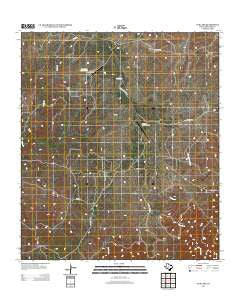 Cub Lake Texas Historical topographic map, 1:24000 scale, 7.5 X 7.5 Minute, Year 2012