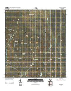 Cuevitas Texas Historical topographic map, 1:24000 scale, 7.5 X 7.5 Minute, Year 2012