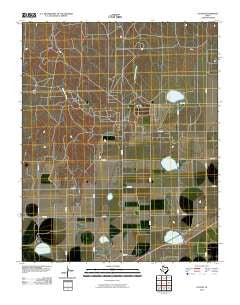 Cuyler Texas Historical topographic map, 1:24000 scale, 7.5 X 7.5 Minute, Year 2010