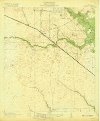Cypress Texas Historical topographic map, 1:31680 scale, 7.5 X 7.5 Minute, Year 1918