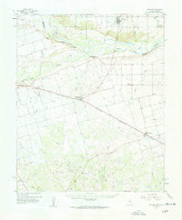 Davidson Oklahoma Historical topographic map, 1:62500 scale, 15 X 15 Minute, Year 1958
