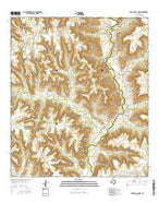 Dead Man Canyon Texas Current topographic map, 1:24000 scale, 7.5 X 7.5 Minute, Year 2016 from Texas Map Store