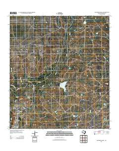 Deadmans Hill Texas Historical topographic map, 1:24000 scale, 7.5 X 7.5 Minute, Year 2012