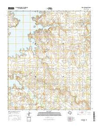 Deer Creek Texas Current topographic map, 1:24000 scale, 7.5 X 7.5 Minute, Year 2016