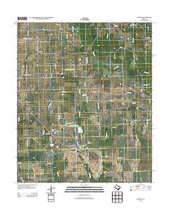 Deport Texas Historical topographic map, 1:24000 scale, 7.5 X 7.5 Minute, Year 2012
