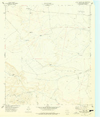 Diablo Canyon East Texas Historical topographic map, 1:24000 scale, 7.5 X 7.5 Minute, Year 1977