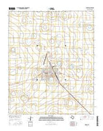 Dimmitt Texas Current topographic map, 1:24000 scale, 7.5 X 7.5 Minute, Year 2016 from Texas Map Store