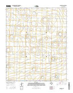 Dimmitt SW Texas Current topographic map, 1:24000 scale, 7.5 X 7.5 Minute, Year 2016 from Texas Map Store