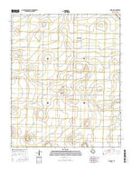 Dodd NE Texas Current topographic map, 1:24000 scale, 7.5 X 7.5 Minute, Year 2016 from Texas Map Store