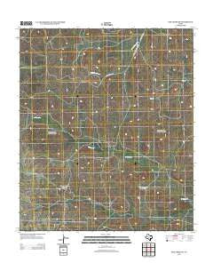 Dog Creek SW Texas Historical topographic map, 1:24000 scale, 7.5 X 7.5 Minute, Year 2012