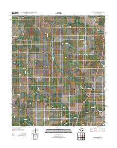 Dudleys Creek Texas Historical topographic map, 1:24000 scale, 7.5 X 7.5 Minute, Year 2012