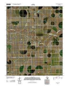 Dumas NE Texas Historical topographic map, 1:24000 scale, 7.5 X 7.5 Minute, Year 2010