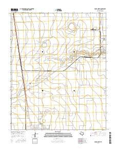 Dumas North Texas Current topographic map, 1:24000 scale, 7.5 X 7.5 Minute, Year 2016
