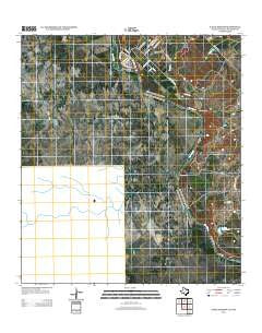 Eagle Pass SW Texas Historical topographic map, 1:24000 scale, 7.5 X 7.5 Minute, Year 2012