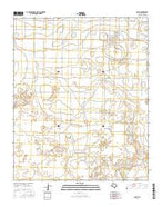 Earth Texas Current topographic map, 1:24000 scale, 7.5 X 7.5 Minute, Year 2016 from Texas Map Store