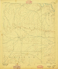 Eden Texas Historical topographic map, 1:125000 scale, 30 X 30 Minute, Year 1896