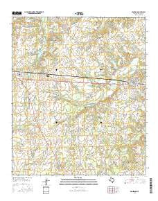 Edgewood Texas Current topographic map, 1:24000 scale, 7.5 X 7.5 Minute, Year 2016