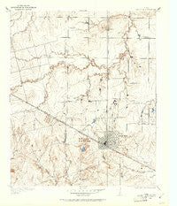 Electra Texas Historical topographic map, 1:24000 scale, 7.5 X 7.5 Minute, Year 1916
