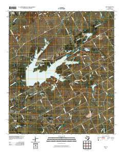 Elk Texas Historical topographic map, 1:24000 scale, 7.5 X 7.5 Minute, Year 2010