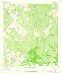 Elm Creek Texas Historical topographic map, 1:24000 scale, 7.5 X 7.5 Minute, Year 1963