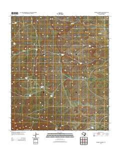 Emory Corral Texas Historical topographic map, 1:24000 scale, 7.5 X 7.5 Minute, Year 2012
