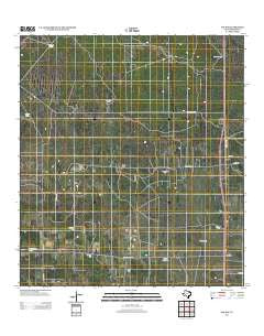 Encino Texas Historical topographic map, 1:24000 scale, 7.5 X 7.5 Minute, Year 2012