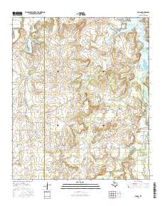 Eolian Texas Current topographic map, 1:24000 scale, 7.5 X 7.5 Minute, Year 2016