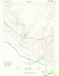 Esperanza Texas Historical topographic map, 1:24000 scale, 7.5 X 7.5 Minute, Year 1972
