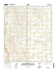 Eunice SE Texas Current topographic map, 1:24000 scale, 7.5 X 7.5 Minute, Year 2016