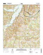 Fair Play Texas Current topographic map, 1:24000 scale, 7.5 X 7.5 Minute, Year 2016 from Texas Map Store
