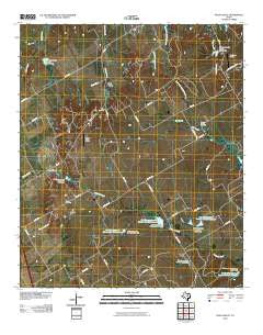 Files Valley Texas Historical topographic map, 1:24000 scale, 7.5 X 7.5 Minute, Year 2010