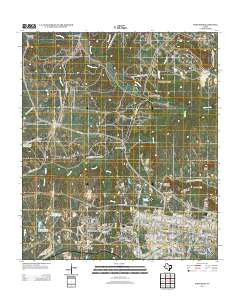 Fort Hood Texas Historical topographic map, 1:24000 scale, 7.5 X 7.5 Minute, Year 2012