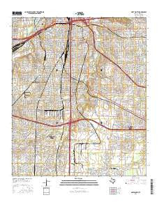 Fort Worth Texas Current topographic map, 1:24000 scale, 7.5 X 7.5 Minute, Year 2016