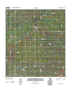 Fowlerton Texas Historical topographic map, 1:24000 scale, 7.5 X 7.5 Minute, Year 2013
