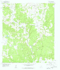 Frelsburg Texas Historical topographic map, 1:24000 scale, 7.5 X 7.5 Minute, Year 1958