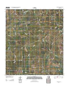 Garfield Texas Historical topographic map, 1:24000 scale, 7.5 X 7.5 Minute, Year 2013