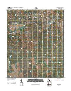 Grayback Texas Historical topographic map, 1:24000 scale, 7.5 X 7.5 Minute, Year 2012