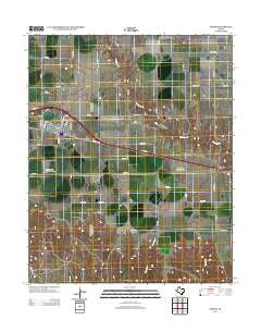 Groom Texas Historical topographic map, 1:24000 scale, 7.5 X 7.5 Minute, Year 2012