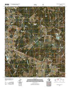 Groveton East Texas Historical topographic map, 1:24000 scale, 7.5 X 7.5 Minute, Year 2010