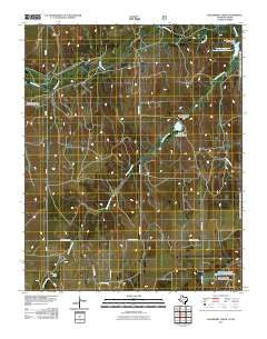 Hackberry Creek Texas Historical topographic map, 1:24000 scale, 7.5 X 7.5 Minute, Year 2010