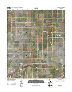 Hamlin NE Texas Historical topographic map, 1:24000 scale, 7.5 X 7.5 Minute, Year 2012