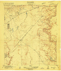 Harmaston Texas Historical topographic map, 1:24000 scale, 7.5 X 7.5 Minute, Year 1916