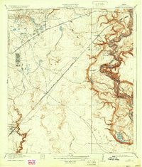 Harmaston Texas Historical topographic map, 1:31680 scale, 7.5 X 7.5 Minute, Year 1920