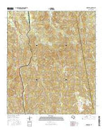 Harrisburg Texas Current topographic map, 1:24000 scale, 7.5 X 7.5 Minute, Year 2016 from Texas Map Store