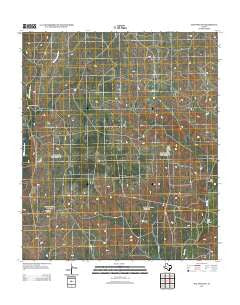 Hay Hollow Texas Historical topographic map, 1:24000 scale, 7.5 X 7.5 Minute, Year 2012
