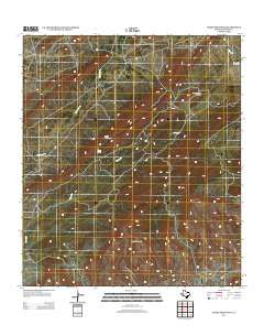 Heart Mountain Texas Historical topographic map, 1:24000 scale, 7.5 X 7.5 Minute, Year 2013