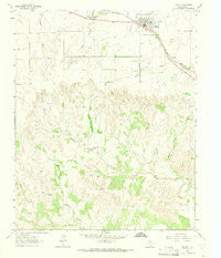 Hedley Texas Historical topographic map, 1:24000 scale, 7.5 X 7.5 Minute, Year 1963