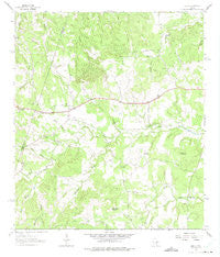 Henly Texas Historical topographic map, 1:24000 scale, 7.5 X 7.5 Minute, Year 1963